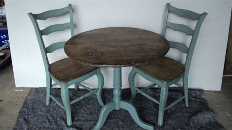 Distressed Bistro Chair Details About Distressed Rustic Dining Bistro Table Oak Top Side Folding Chair Option