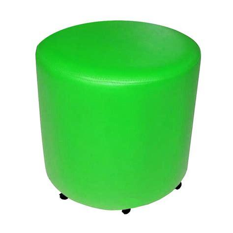 Kursi Puff jual fcenter bulat kursi puff hijau jabodetabek
