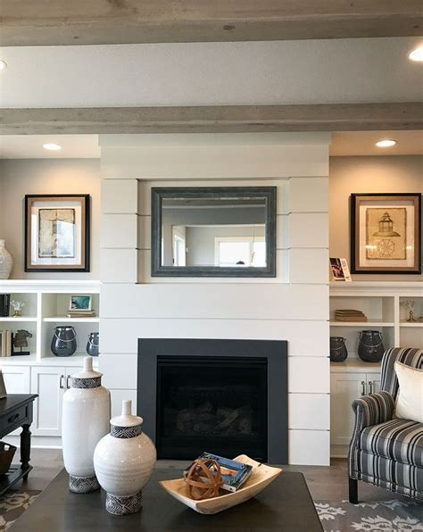 shiplap next to fireplace 25 best ideas about shiplap fireplace on pinterest