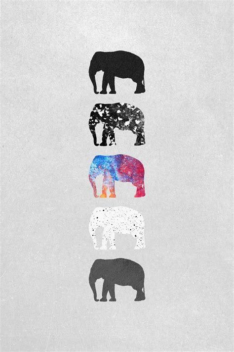 elephant pattern iphone wallpaper southwestern tribal pattern art print by rebekah e