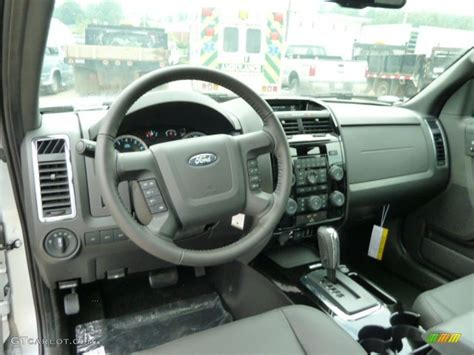 2012 Ford Escape Interior charcoal black interior 2012 ford escape limited v6 4wd photo 51738025 gtcarlot