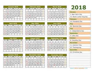 Calendar 2018 Monday To Sunday Printable 2018 Calendar