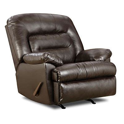 Simmons Manhattan Faux Leather Recliner by Recliners Espresso And This Weekend On