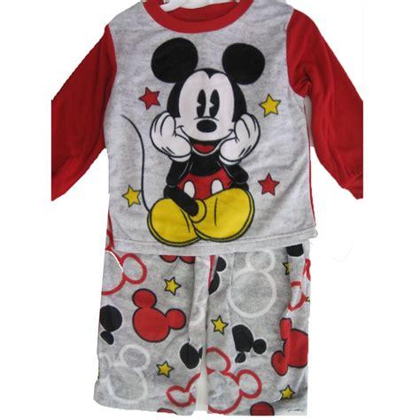 Boy Set Mickey Mouse Mickey Mouse Newborn Baby Boy Cotton Tight Fit Pajamas 4pc