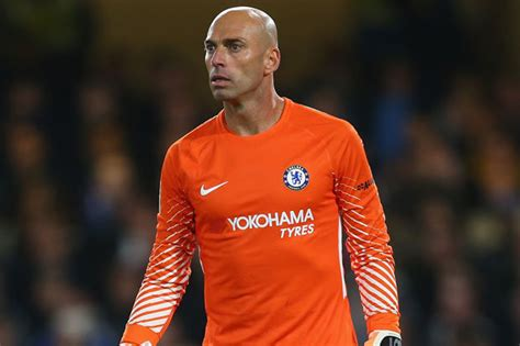willy caballero chelsea news blues goalkeeper sends message to team mates