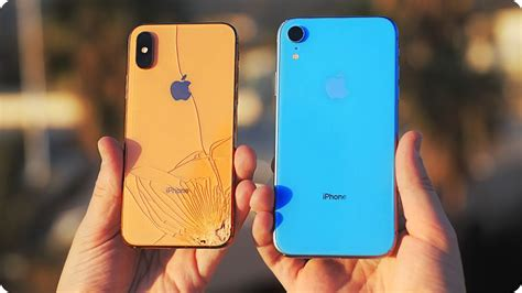 the iphone xr drop test i didn t expect this