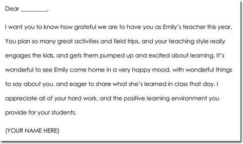 teacher parents note samples wording ideas