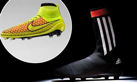 nike knitted football boots knitted football boots adidas and nike s new all in one