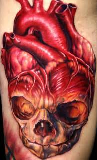 skull and heart tattoo 1000 images about tattoo ideas on