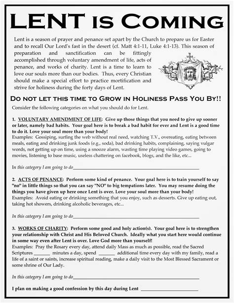 Lent Worksheets by Catholic Lent And Easter On Lent Catholic And