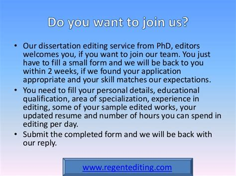 dissertation proofreading services dissertation editing service by phd editors