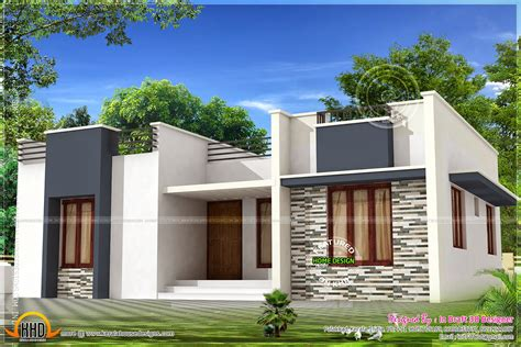 3 bed room budget home design 971 sq ft kerala home