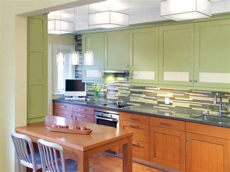 finishing kitchen cabinets ideas painting kitchen cabinet ideas pictures tips from hgtv