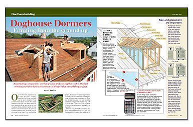 framing a dog house doghouse dormers framing from the ground up attic