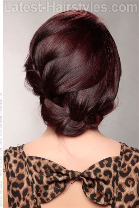 loose back braid 20 breathtaking loose updos you can wear anywhere