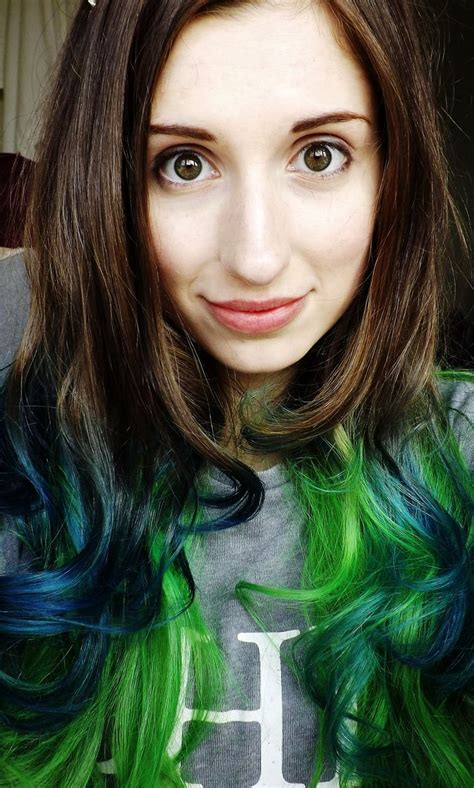 hairstyles dip dye 4060 best hair style ideas images on pinterest