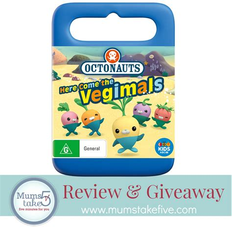 Giveaway Dvd - octonauts here come the vegimals dvd giveaway