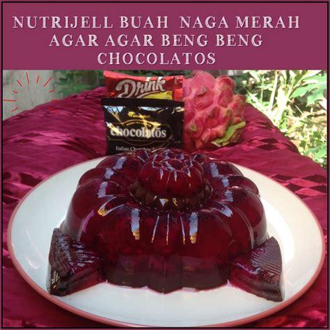 Beng Beng Drink Renceng 10 Sachet resep nutrijell buah naga merah agar agar beng beng