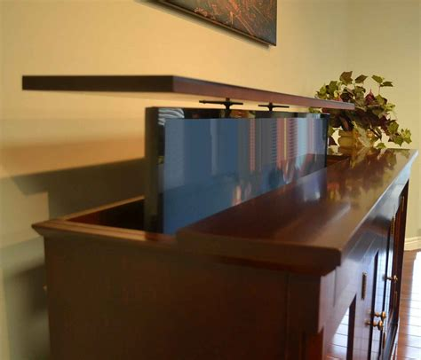 tv cabinet that raises the tv the florence tv lift cabinet tv lift furniture