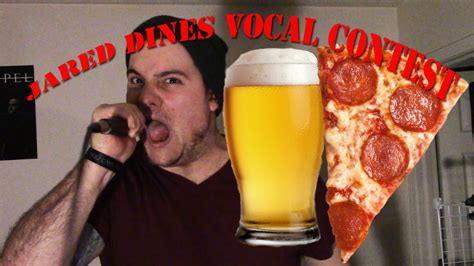 pizza jard n jared dines vocal contest pizza n beer youtube