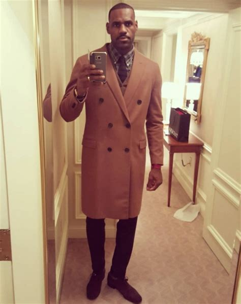 In Cleveland Wardrobe by Lebron In Coat Picture Gets Photoshopped Memed