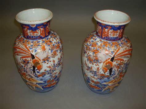 Imari Vases For Sale by Large 19th Century Pair Of Imari Vases For Sale At 1stdibs