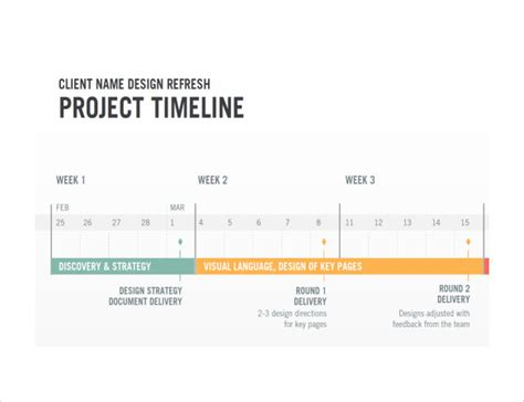 project timeline template project timeline template 14 free for word
