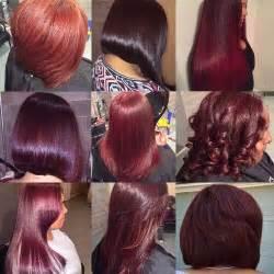 burgundy hair color chart 50 burgundy hair color ideas for this fall hair