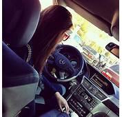 Girl In Car Heavy Traffic
