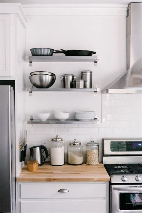 Kitchen Shelf by How To Style Your Kitchen Shelves Coco Kelley