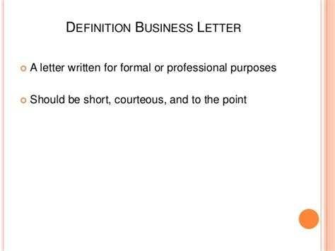 Positive Business Letter Definition how to make business letter 2