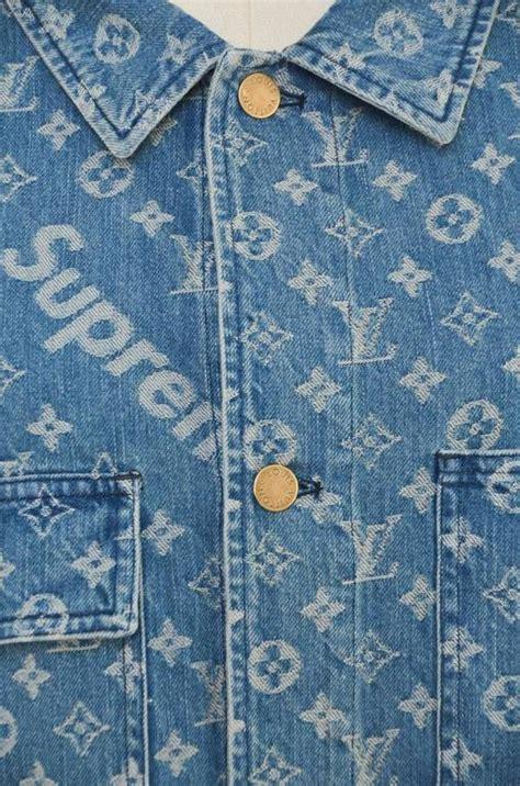 Big Saleee Lv Limited Seprem louis vuitton x supreme denim barn jacket monogram size 52 nwt limited for sale at 1stdibs