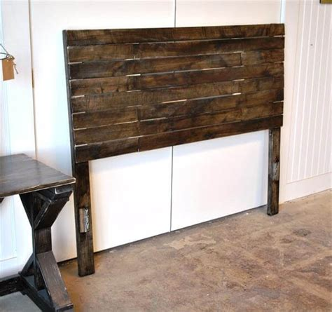 headboards from pallets diy pallet bed headboard pallet furniture diy