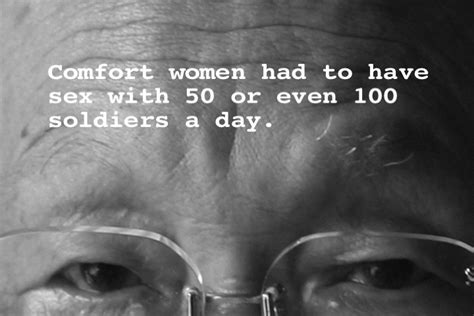 comfort women quotes the history of comfort women a wwii tragedy we can t