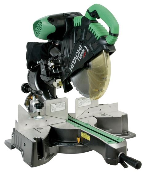 how long is a twelve inch saw in bob hitachi c12rsh 15 amp 12 inch sliding compound miter saw
