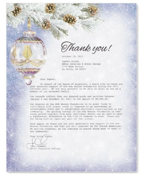 Thank You Letter Year End 5 Steps To A Genuine End Of The Year Thank You Letter Paperdirect