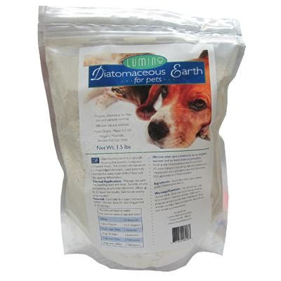 is diatomaceous earth safe for dogs lumino organic diatomaceous earth for pets 1 5 pound