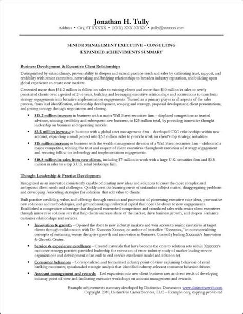 sle resume with accomplishments achievements in resume exles for 100 images high