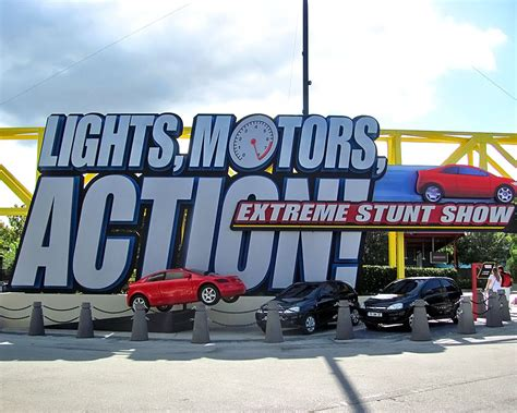 light motor lights motors stunt show disney world