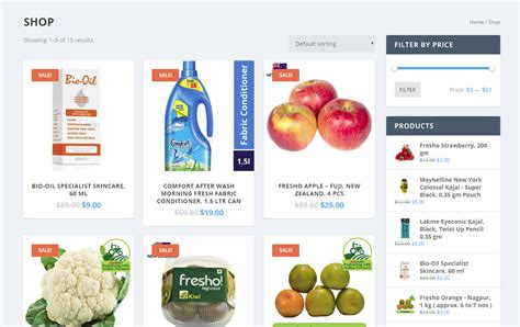 supermarket website layout grocery store website design grocery store website