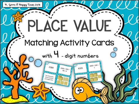 Place Value Cards Template by Types Of Determiners Poster For Spag Grammar By Uk