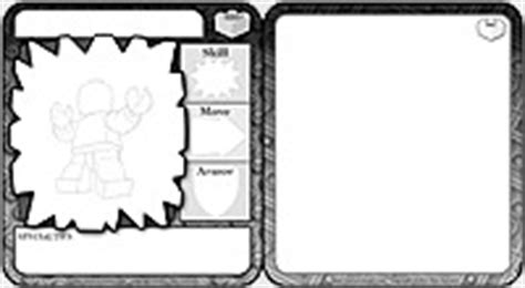 Blank Flat Card Template Word by Brikwars 2005 Chapter 2 The Mighty Minifig