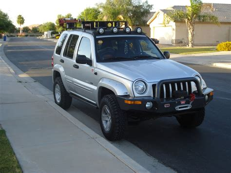 jeep liberty roof lights flyingwen s 2002 jeep liberty kj expedition portal