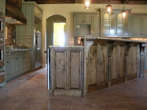 Bar Island For Kitchen Kitchen Island With Raised Bar Rustic Island With Raised Bar Kitchen Jrhouse Pinterest