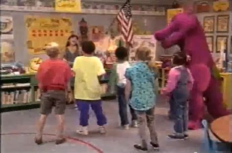 barney and the backyard gang goes to school barney and the backyard gang barney goes to school images