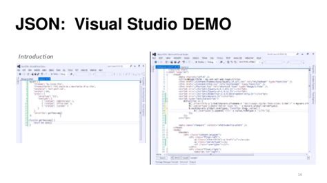 format json file visual studio json introduction