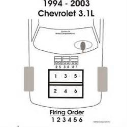 whats the firing order for a 2002 chevy malibu fixya