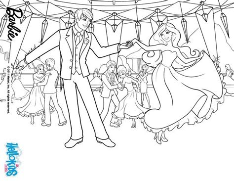 barbie school coloring page blair and prince nicholas coloring pages hellokids com