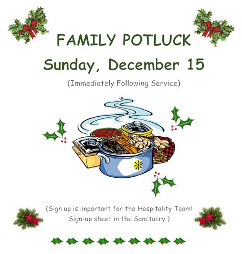 family potluck unity of medina