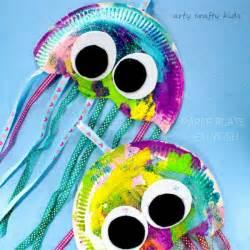 preschool craft ideas 25 best ideas about paper plate jellyfish on